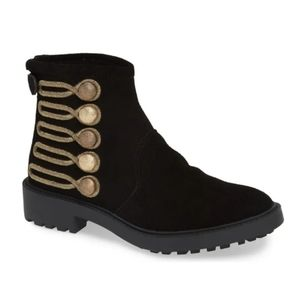NEW Linea Paolo Suede Ankle Boot